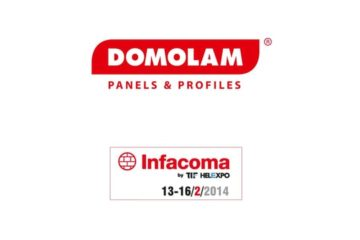 DOMOLAM PANELS & PROFILES IN INFACOMA 2014